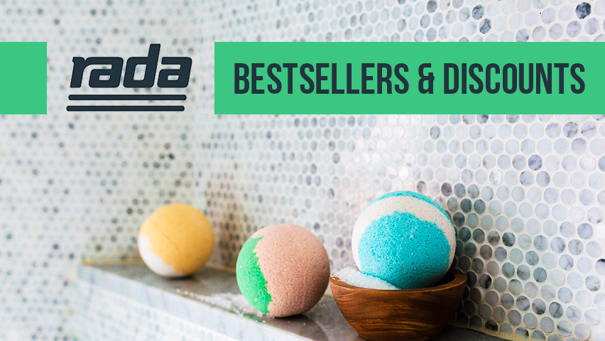Rada showers bestsellers and favourites.