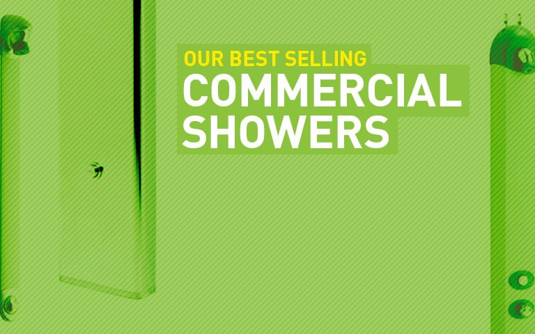 Best selling commercial showers.