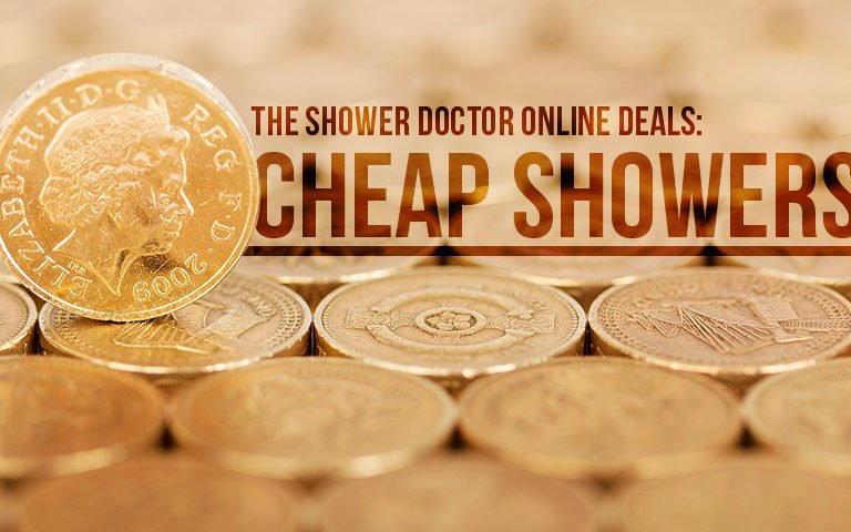 Cheap showers from The Shower Doctor.