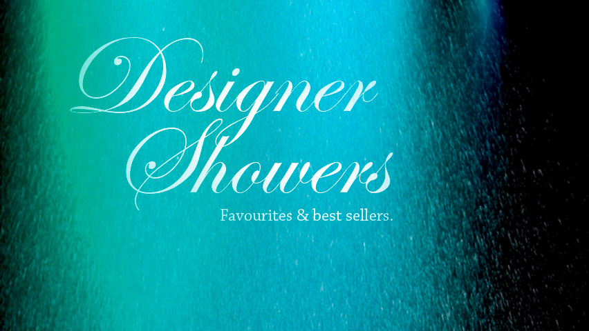 Best selling designer showers.