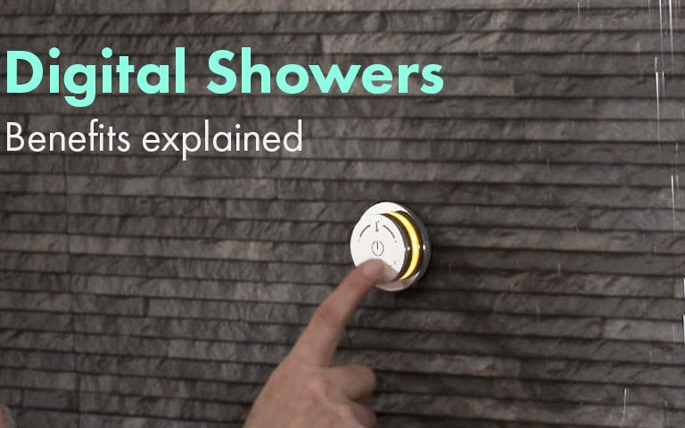 Benefits of digital showers explained.