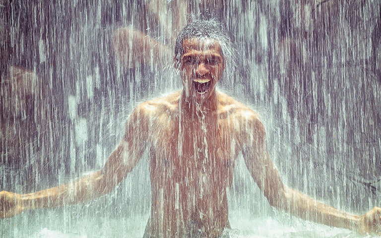 Is a hot shower really bad for your skin?