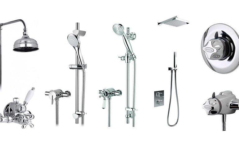 Top mixer showers.
